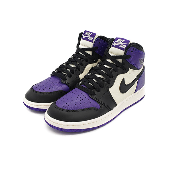 "AIR JORDAN 1 RETRO GS ""COURT PURPLE"" 2018"