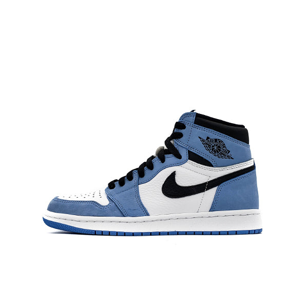 AIR JORDAN 1 RETRO HIGH WHITE UNIVERSITY BLUE BLACK 2021