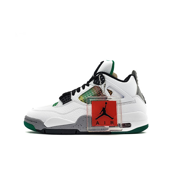 "AIR JORDAN 4 RETRO WMNS ""LUCID GREEN RASTA"" 2020"
