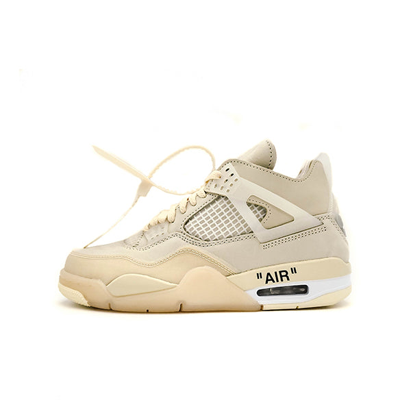 OFF-WHITE X AIR JORDAN 4 RETRO SAIL (W) 2020