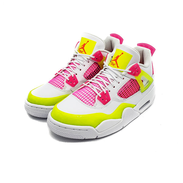 "AIR JORDAN 4 RETRO GS ""WHITE LEMON PINK"" 2020"