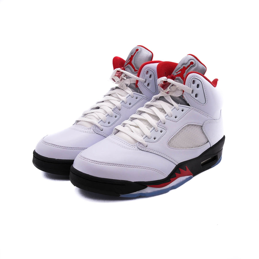 "AIR JORDAN 5 RETRO ""FIRE RED SILVER TONGUE"" 2020"