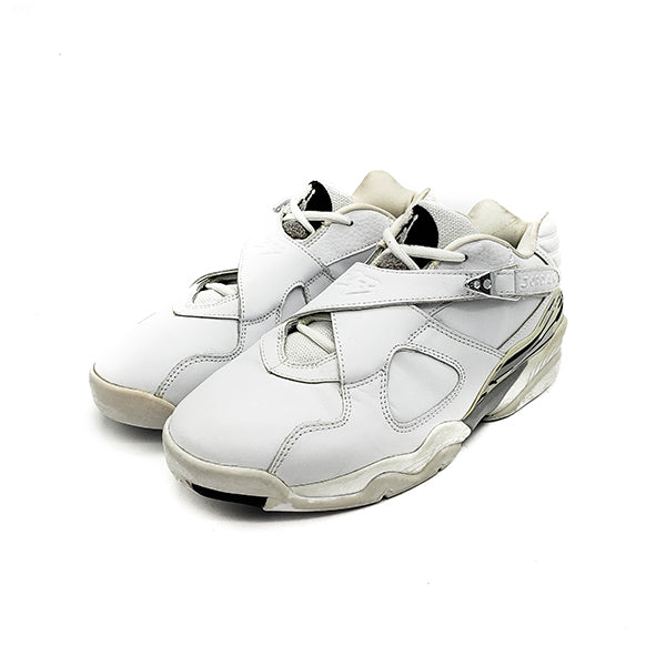 "AIR JORDAN 8 RETRO LOW ""WHITE CHROME"" 2003"