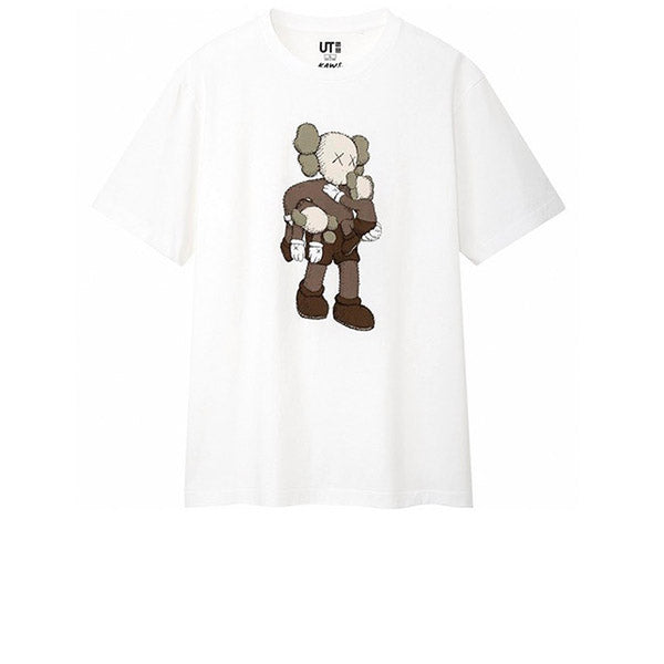 KAWS X UNIQLO CLEAN SLATE TEE WHITE SS19