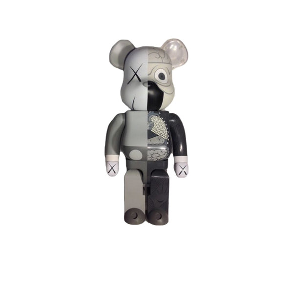 BEARBRICK KAWS DISSECTED 1000% GREY