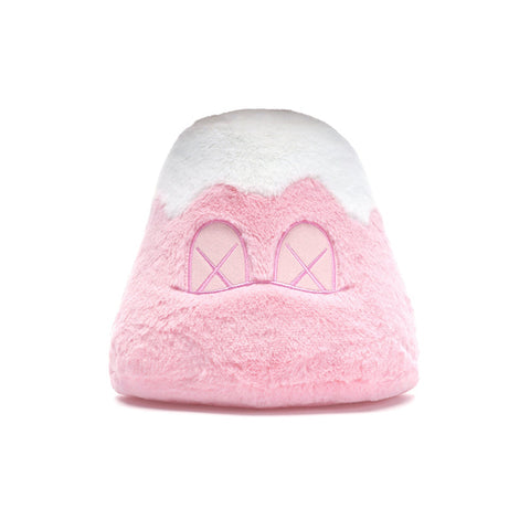 KAWS HOLIDAY JAPAN MOUNT FUJI PLUSH PINK SS19