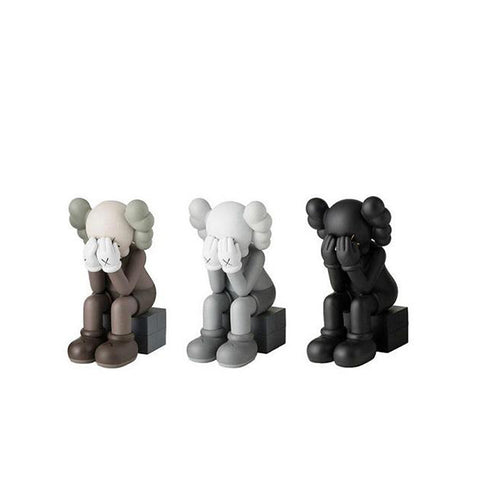 KAWS PASSING THROUGH OPEN EDITION VINYL FIGURE SET OF 3