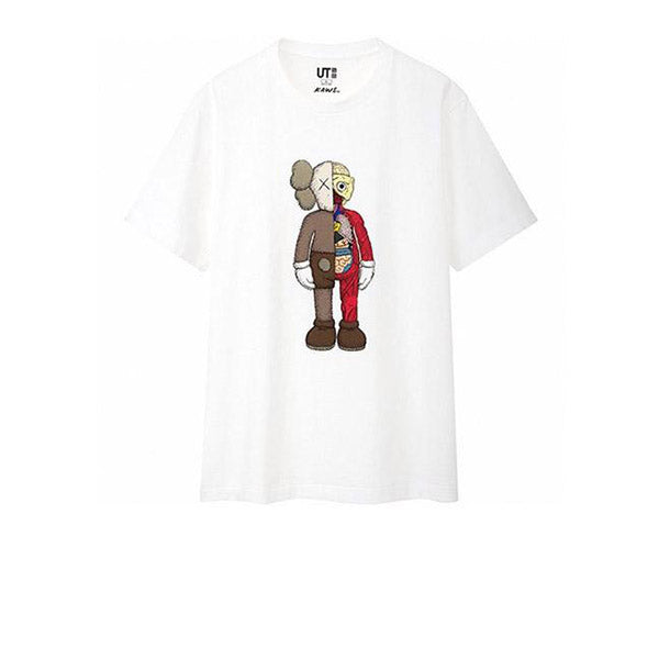 KAWS X UNIQLO FLAYED TEE WHITE SS19