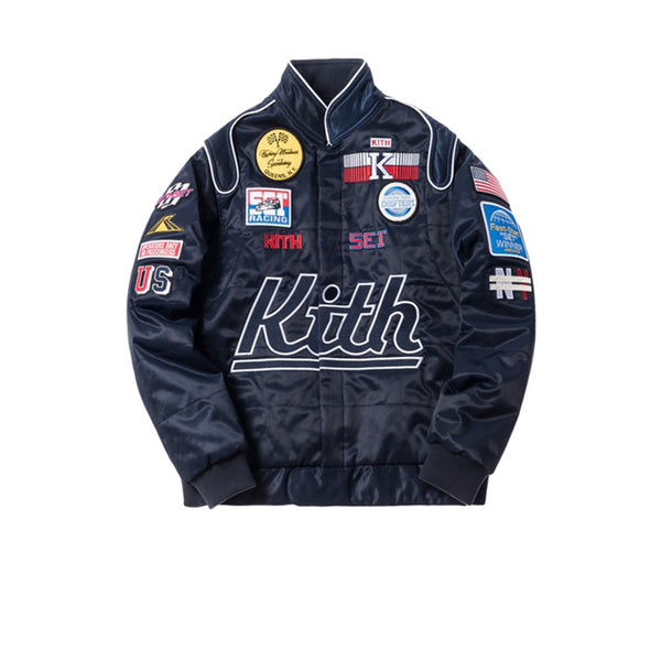 KITH RACING JACKET NAVY SS18