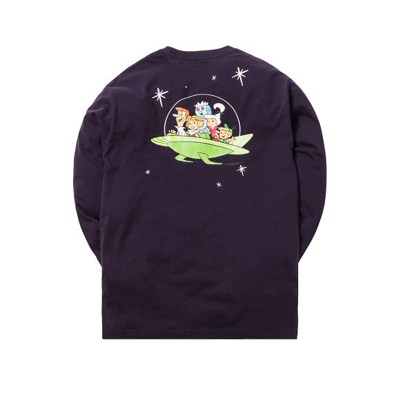 KITH JETSONS ASTRO TRAVELING L/S TEE PURPLE