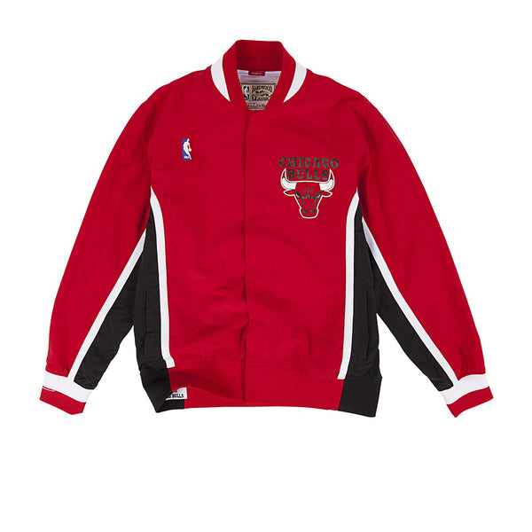 MITCHELL & NESS NBA HARDWOOD CLASSIC AUTHENTIC CHICAGO BULLS 92 WARM UP JACKET