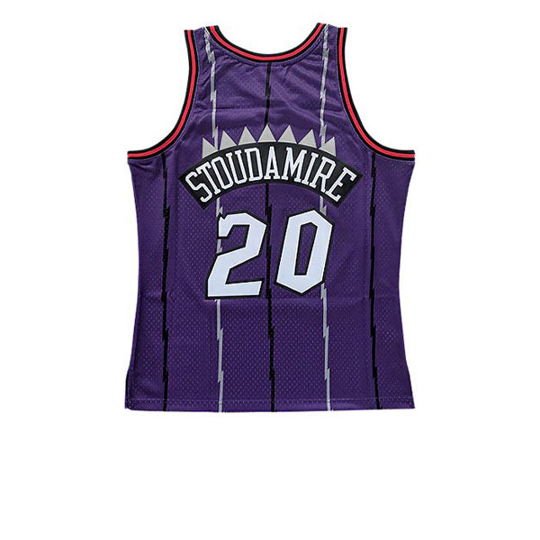 MITCHELL & NESS NBA HARDWOOD CLASSIC SWINGMAN TORONTO RAPTORS DAMON STOUDAMIRE JERSEY PURPLE