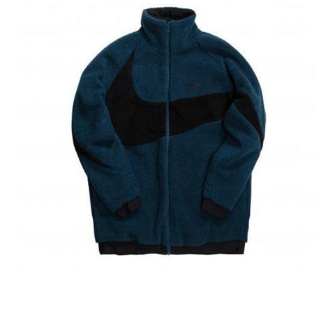 NIKE NSW REVERSIBLE SWOOSH FULLZIP BLUE/BLACK