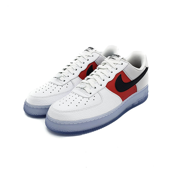 India peor cura  NIKE AIR FORCE 1 LOW WHITE RED BLACK (ICY SOLES) 2020 - Stay Fresh
