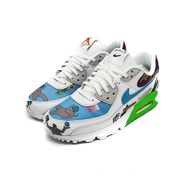 NIKE AIR MAX 90 FLYLEATHER RUOHAN WANG 2020 - Daire Online store