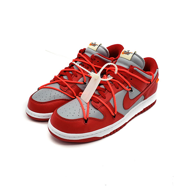 "NIKE DUNK LOW OFF-WHITE ""UNIVERSITY RED"""