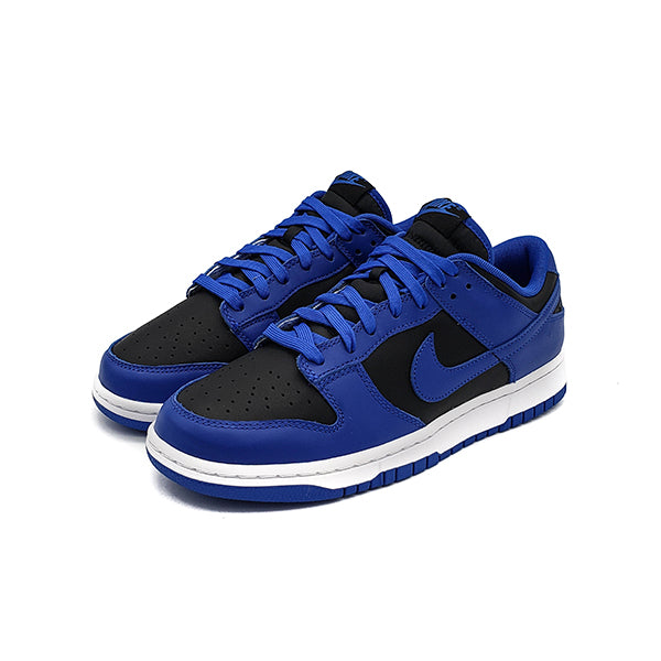 NIKE DUNK LOW RETRO BLACK HYPER COBALT 2021