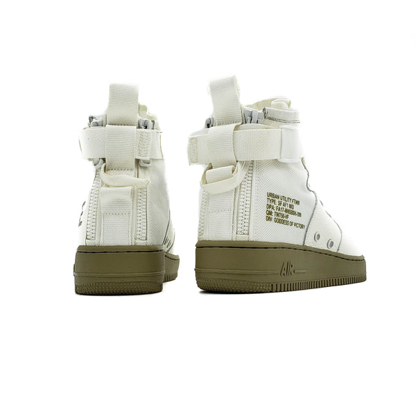 "NIKE SF AIR FORCE 1 MID ""IVORY OLIVE"""