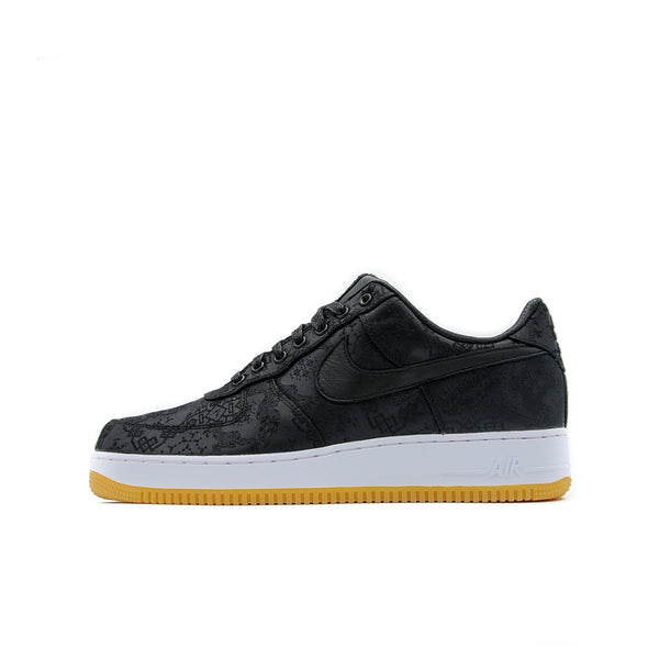 "NIKE AIR FORCE 1 LOW FRAGMENT DESIGN X CLOT ""BLACK SILK"""