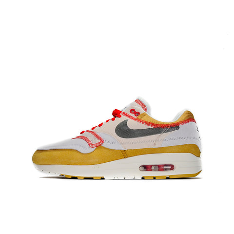 "NIKE AIR MAX 1 INSIDE OUT CLUB ""GOLD BLACK"" 2019 858876-713"