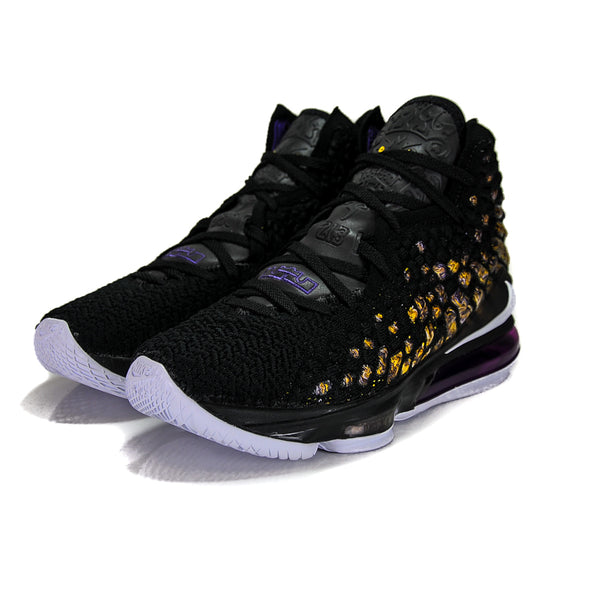"NIKE LEBRON 17 ""LAKERS"" 2019 BQ3177-004"