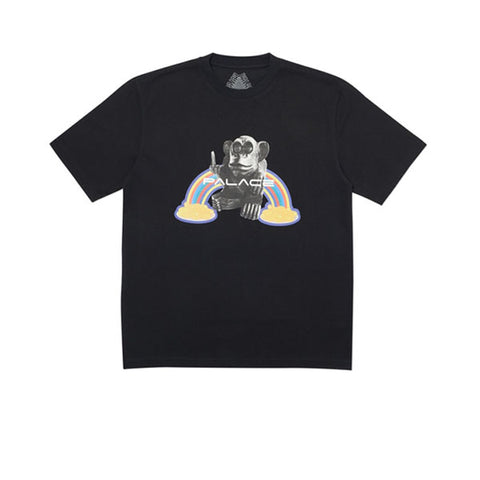 PALACE PUCK U SIR TEE BLACK FW19