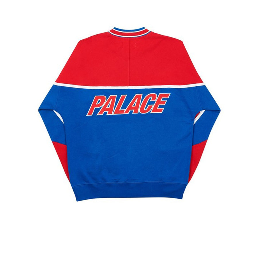 PALACE PALAZZO CREW RED BLUE