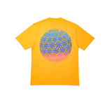 PALACE GLOBULAR TEE YELLOW