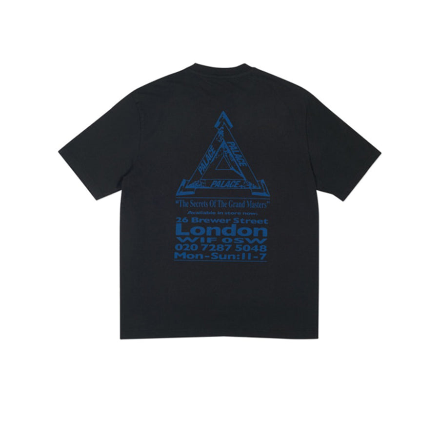 PALACE GRAND MASTER TEE BLACK FW18