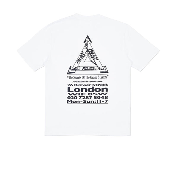 PALACE GRAND MASTER TEE WHITE