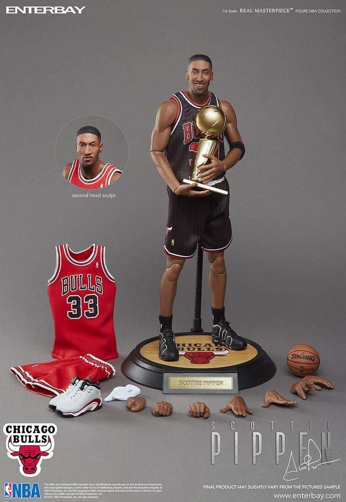 PRE-ORDER ENTERBAY SCOTTIE PIPPEN 1:6 FIGURE