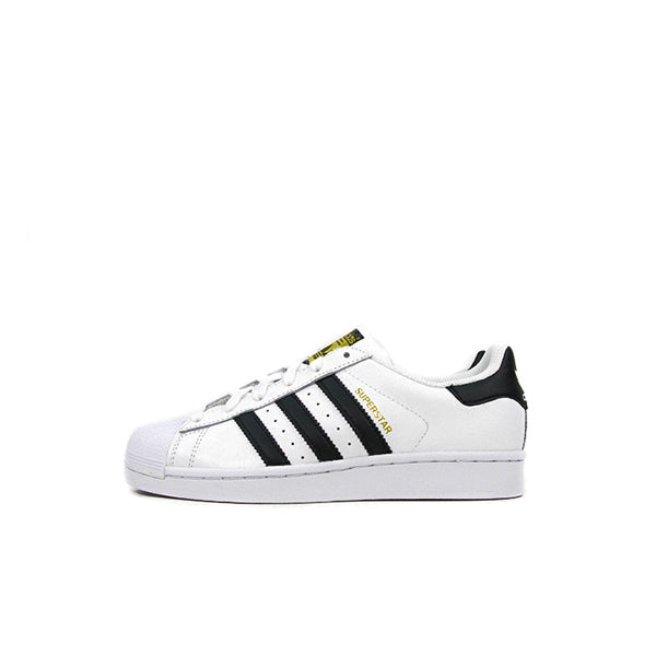 "ADIDAS SUPERSTAR FOUNDATION KIDS ""WHT/BLK"""