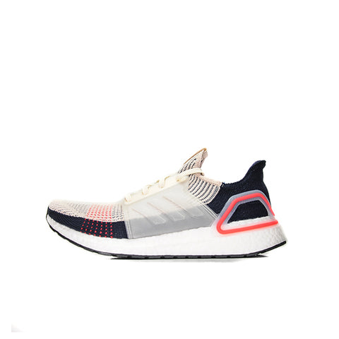 "ADIDAS ULTRA BOOST '19 ""BLACK/CHALK WHITE"" 2019 B37705"