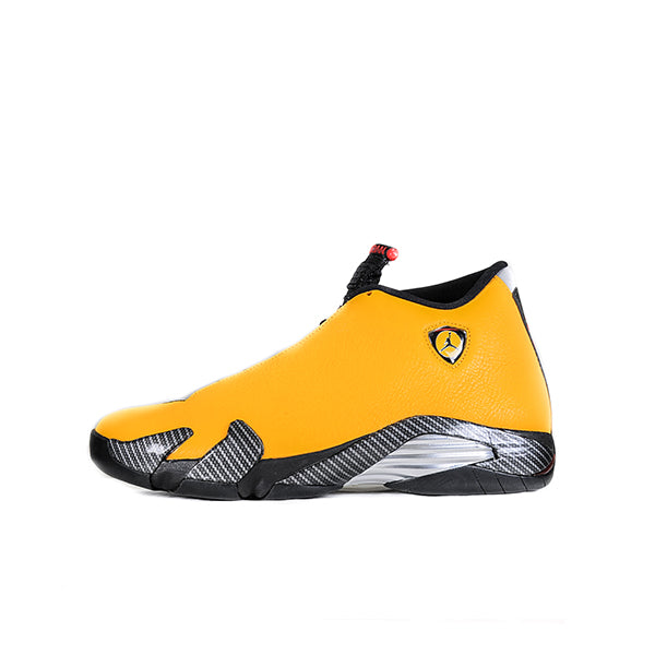 "AIR JORDAN 14 RETRO ""FERRARI UNIVERSITY GOLD"" 2019"