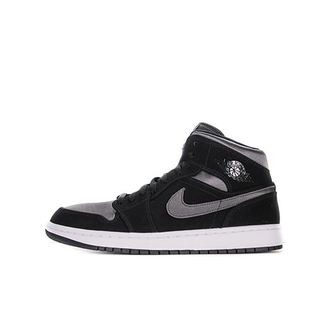 "AIR JORDAN 1 MID ""NYLON BLACK ANTHRACITE"" 2019 852542-012"