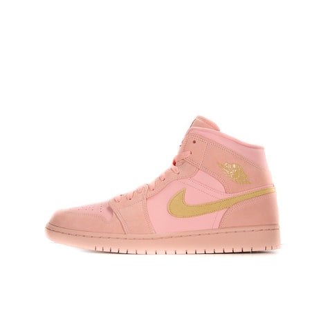 "AIR JORDAN 1 MID ""CORAL  GOLD"" 2019 852542-600"
