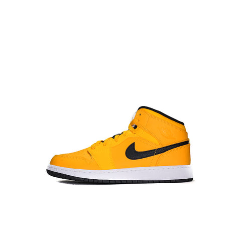 "AIR JORDAN 1 MID GS ""UNIVERSITY GOLD BLACK"" 2019 554725-700"