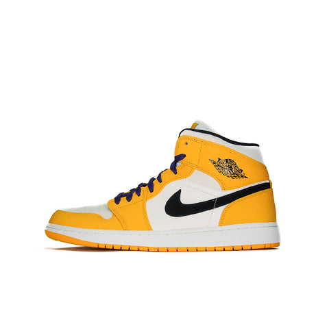 "AIR JORDAN 1 MID SE ""LAKERS"" 2019 852542-700"