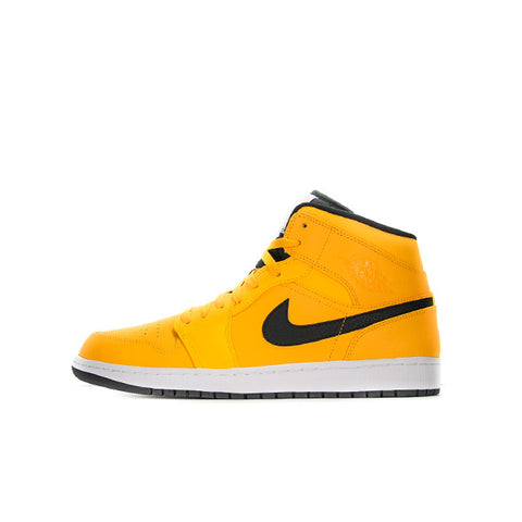 "AIR JORDAN 1 MID ""UNIVERSITY GOLD/BLACK"" 2019 554724-700"