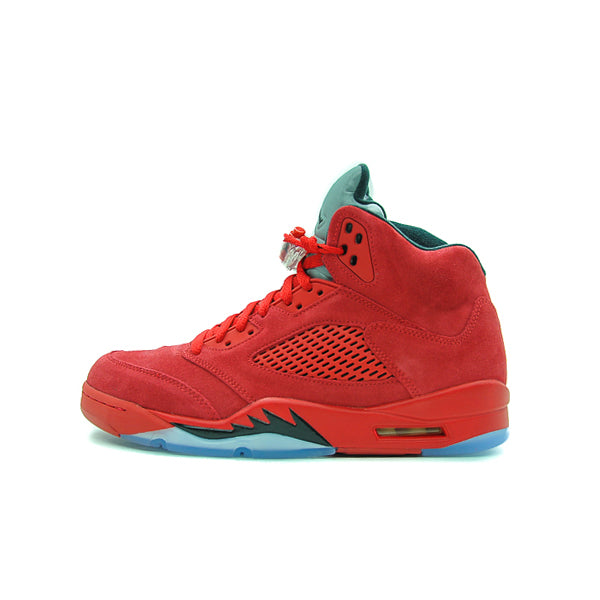 detailed look 9177d 74486 ... spain air jordan 5 retro red suede 2017 136027 602 stay fresh e0ad8  ea79e ...