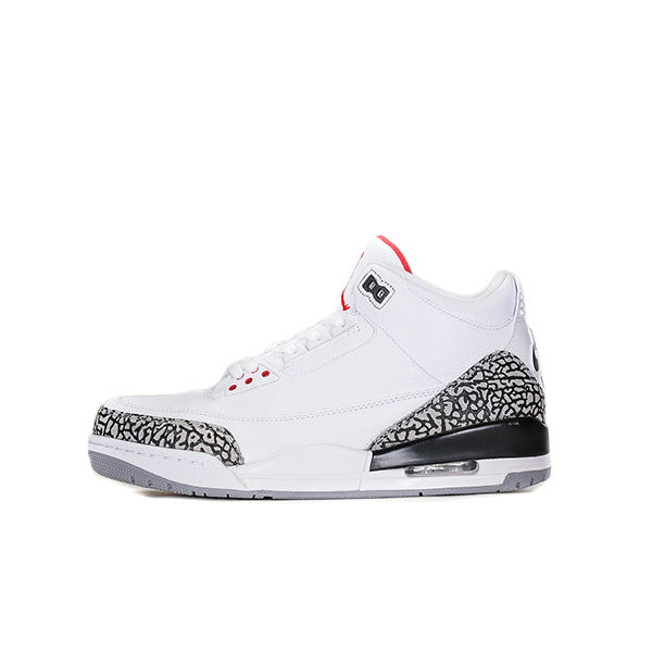 "AIR JORDAN 3 ""WHITE CEMENT ('88 DUNK CONTEST)"" 2013 580775-160"