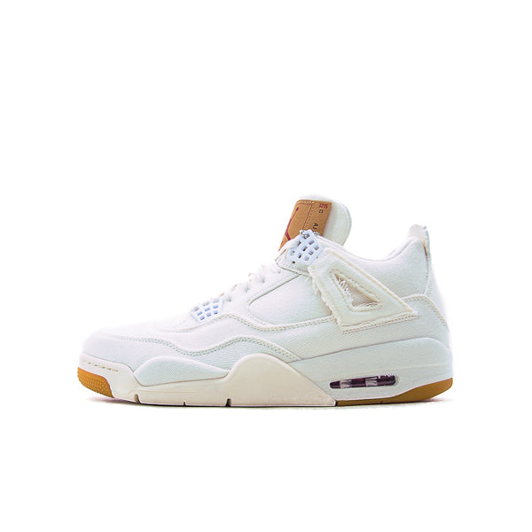 "AIR JORDAN 4 RETRO ""LEVI'S WHITE"" 2018"