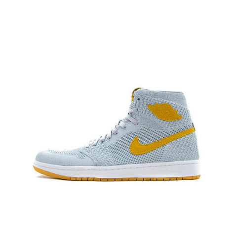 "AIR JORDAN 1 HIGH FLYKNIT ""WOLF GREY"" 2017 919704-025"