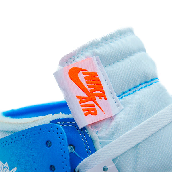 "AIR JORDAN 1 OFF WHITE ""UNIVERSITY BLUE"""