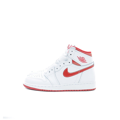 "AIR JORDAN 1 HIGH BG ""METALLIC RED"" 2017 575441-103"