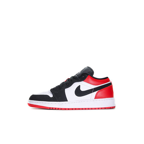 "AIR JORDAN 1 LOW GS ""BLACK TOE"" 2019 553560-116"