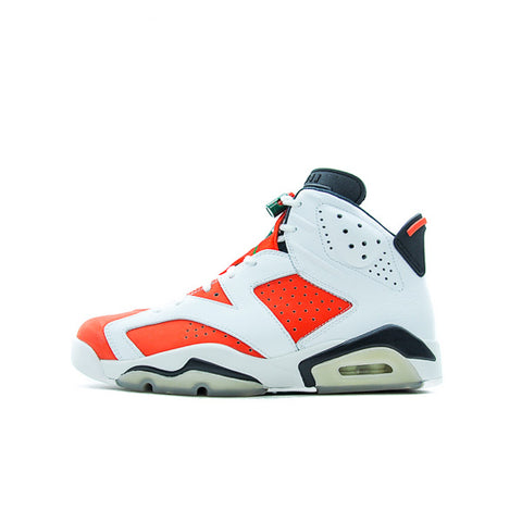 "AIR JORDAN 6 ""GATORADE LIKE MIKE WHITE"" 2017 384664-145"