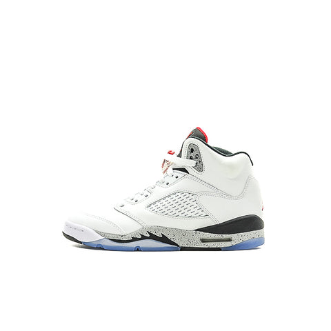 "AIR JORDAN 5 BG ""WHITE CEMENT"" 2017 440888-104"