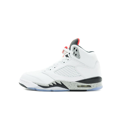 "AIR JORDAN 5 ""WHITE CEMENT"" 2017 136027-104"