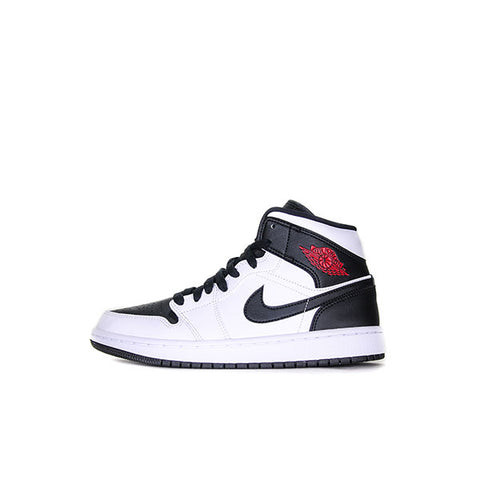"AIR JORDAN 1 MID WMNS ""REVERSE BLACK TOE"" 2019 BQ6472-101"